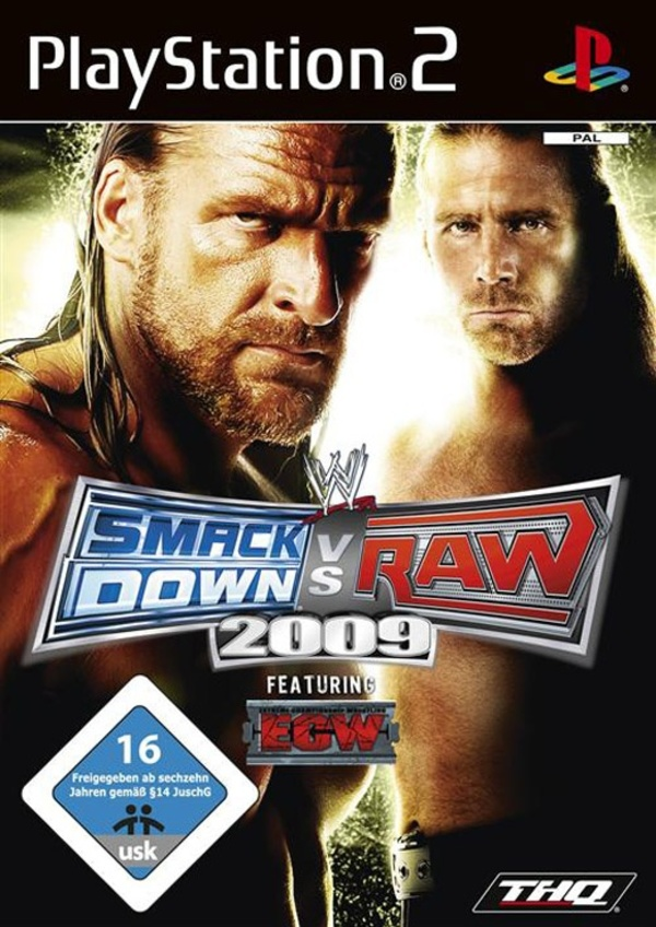 Cover zu WWE Smackdown vs. RAW 2009