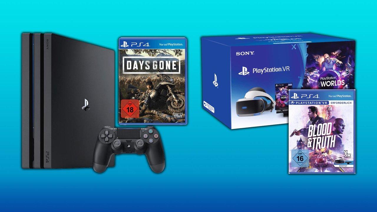 Bundles Fur Ps4 Pro Und Playstation Vr Im Mediamarkt Prospekt Angebot Anzeige
