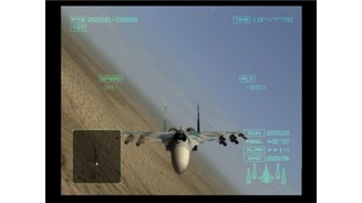 When enemy fighter is stalking you or a missile's on your tail, check your six to evade easier
