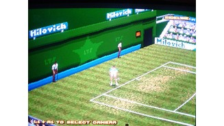 Action replay. The game cannot be played from this angle.