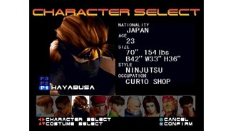 Remember me? Ryu Hayabusa, from Tecmo's Ninja Gaiden series, makes an appearance in the game.