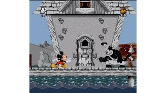 By the time Mickey runs into this surly fellow, color has started leaking in