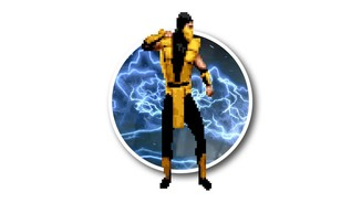 <b>Scorpion in Mortal Kombat 3 (1995)</b>