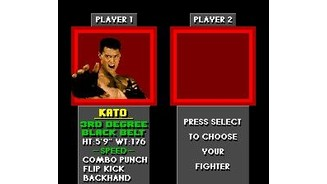 Kato is the chosen fighter!