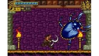 This gigantic beetle is other boss: attack it without mercy!