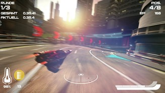 <b>Wipeout Omega Collection</b><br>Die Omega Collection eignet sich hervorragend, um die Power der PS4 Pro zu demonstrieren.