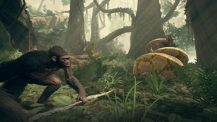 Ancestors: The Humankind Odyssey - Neues Gameplay aus dem Dschungelcamp