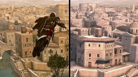Assassin's Creed: The Ezio Collection - PS4-Remaster und PS3-Original im Grafikvergleich
