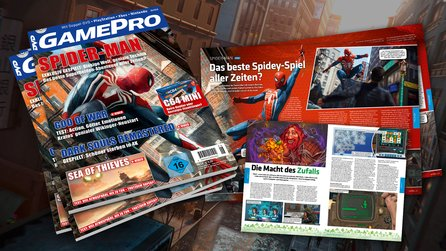 GamePro 6/2018 - ab dem 2.5. am Kiosk! - Spider-Man