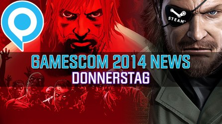 gamescom-News: Donnerstag - Metal Gear Solid 5 für PC & Walking Dead von den Payday-Machern