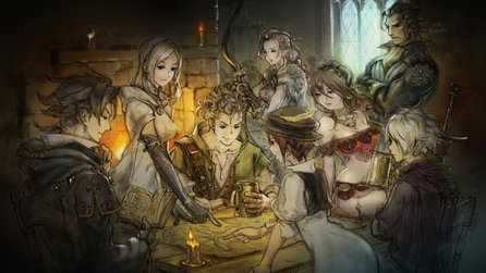 Octopath Traveler - Testvideo zum Switch-exklusiven Rollenspiel-Highlight