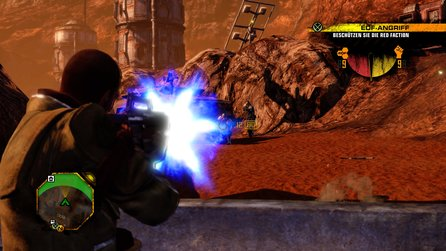 Red Faction Guerrilla Re-Mars-tered im Test - Angestaubte Zerstörungsorgie