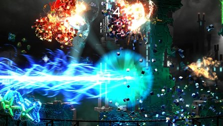 Resogun - Gameplay-Trailer zum PS4-Shoot 'em up