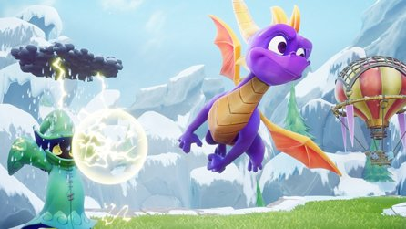 Spyro Reignited Trilogy - Gameplay-Trailer belebt Eislevel Frostaltar auf PS4 & Xbox One wieder
