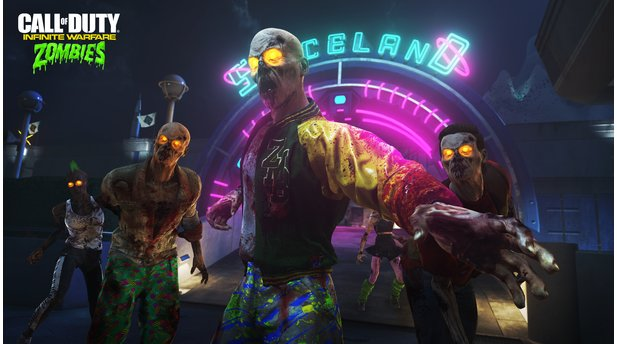 Call of Duty: Infinite Warfare - Screenshots aus dem Zombie-Modus »Zombies in Spaceland«