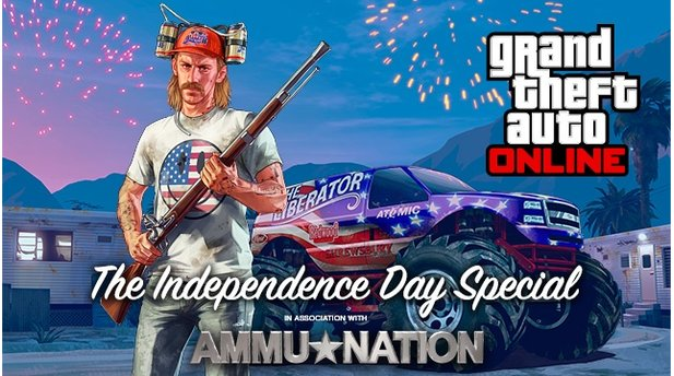 Grand Theft Auto Online - Screenshots aus dem Independence-Day-DLC