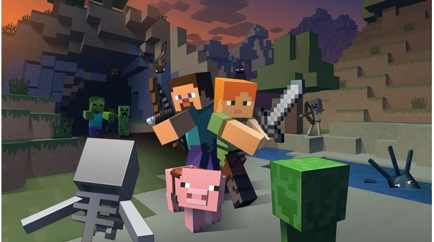 Minecraft - Screenshots der Wii-U-Version