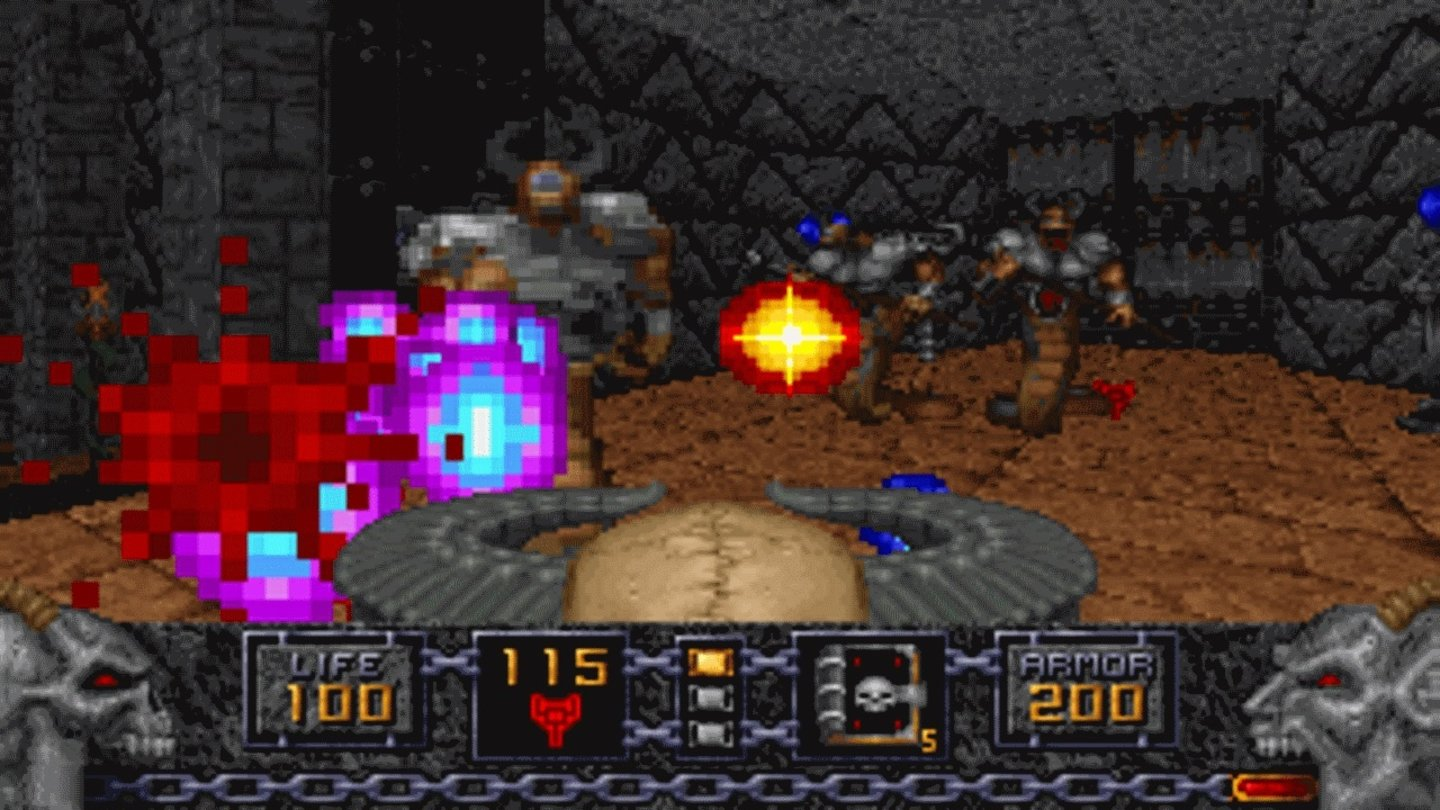 1994: HereticId Tech 1 (Doom Engine)