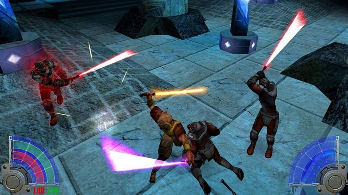 2003: Star Wars Jedi Knight 3 Jedi AcademyId Tech 3