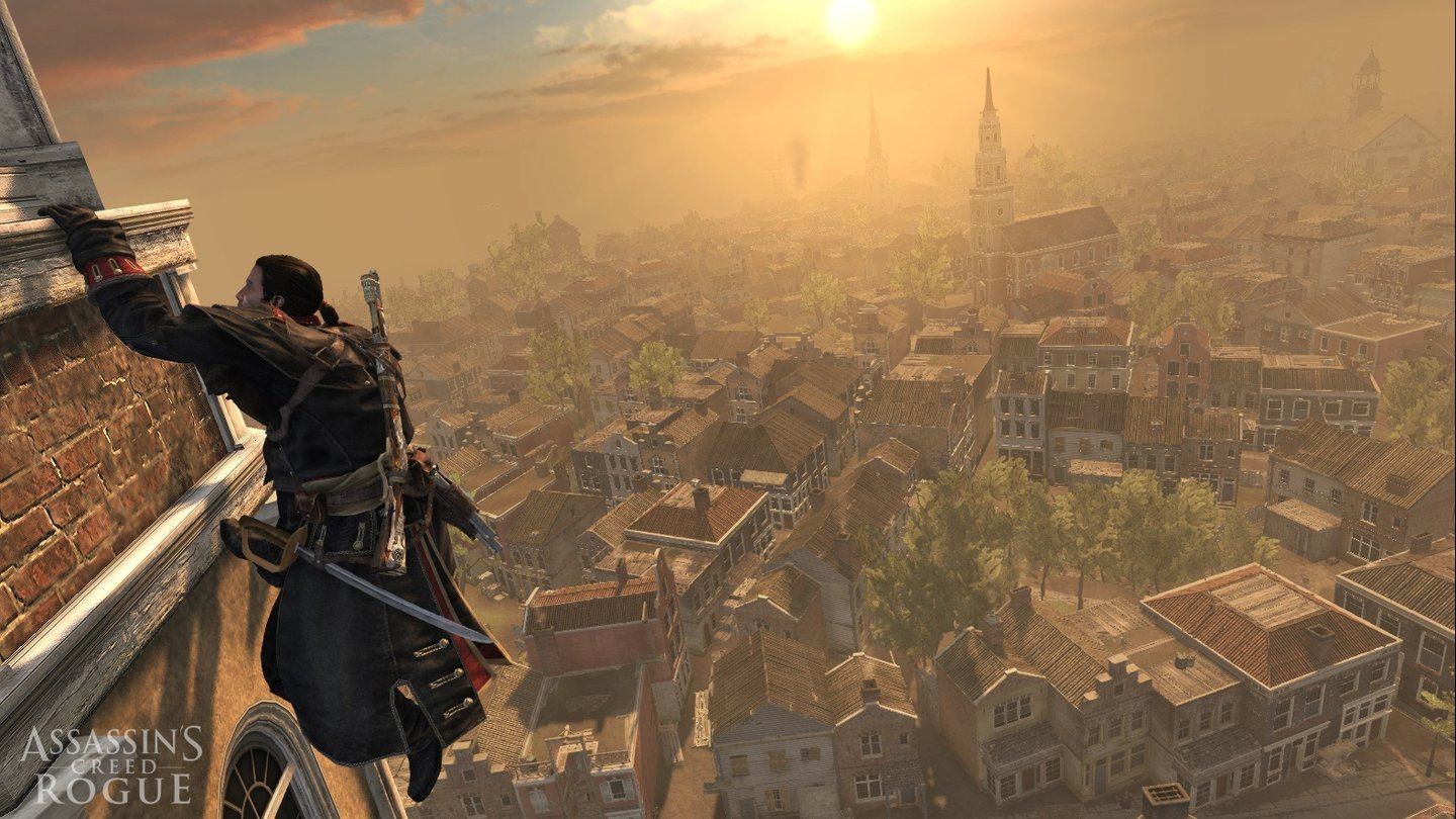 Assassins Creed RogueNew York ist die größte Stadt in Aassassin's Creed Rogue.