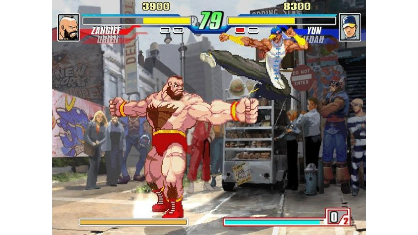 Zangief marks his territory.