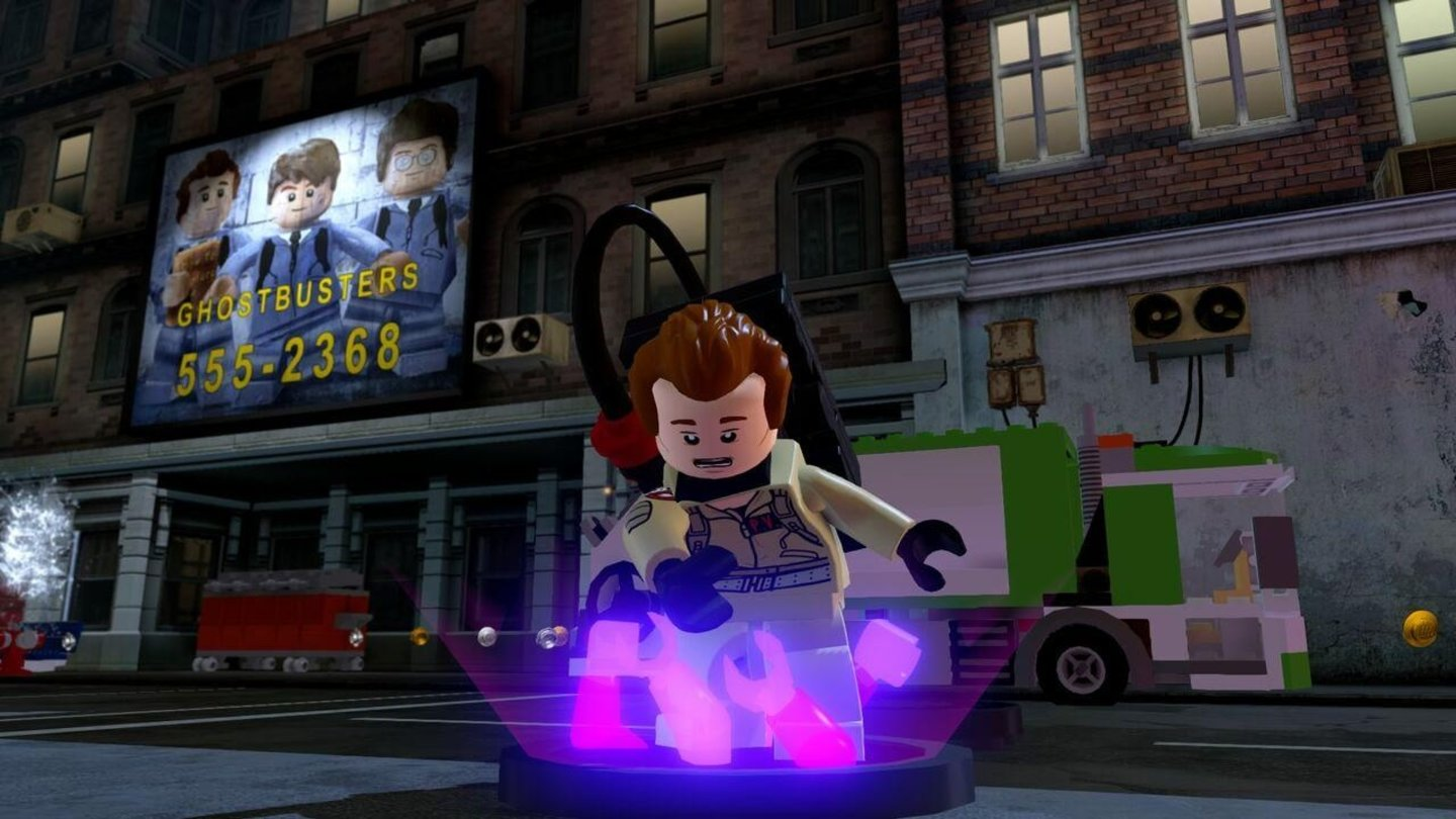 LEGO Dimensions - Screenshots zum Ghostbusters-Levelset