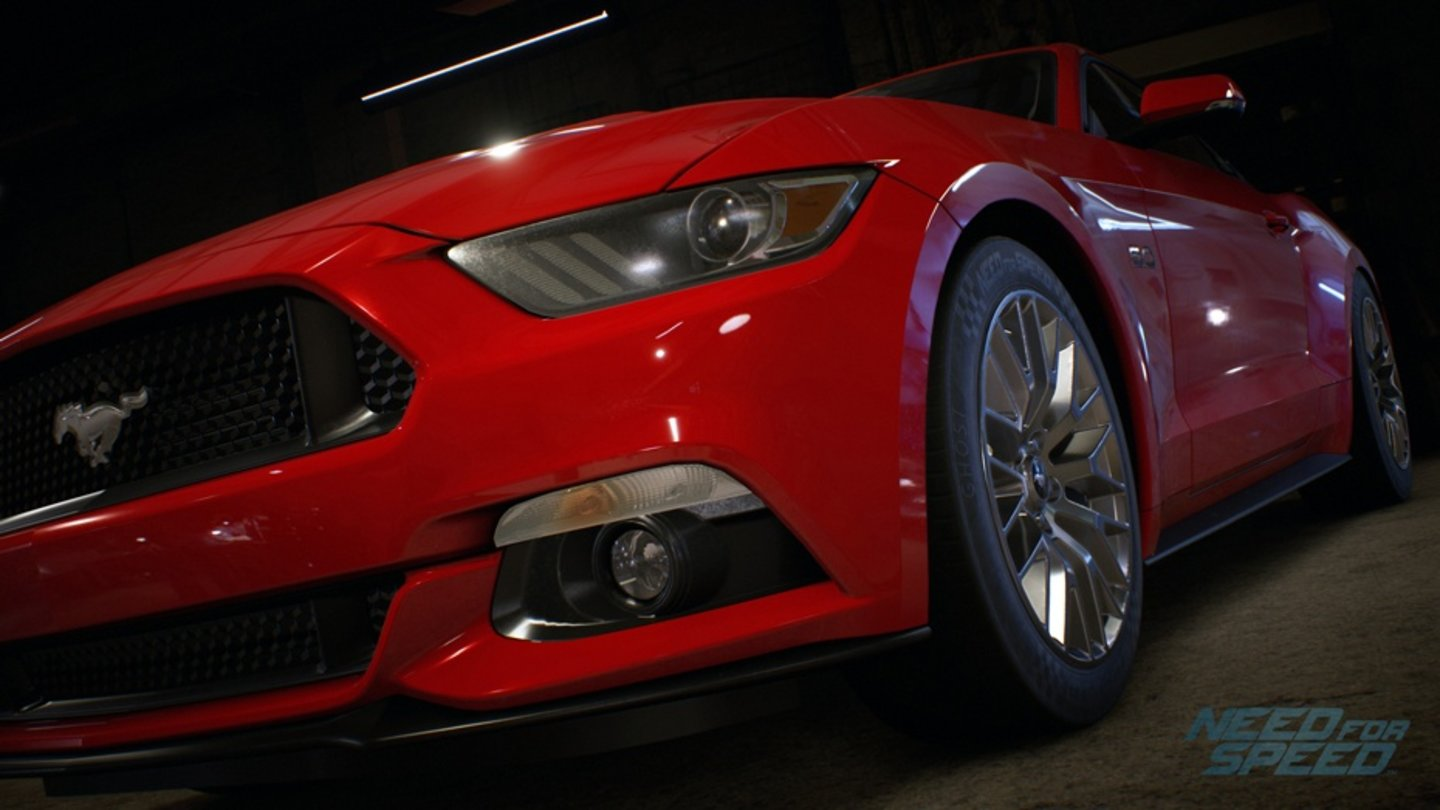 Need for Speed - Screenshots der Fahrzeuge - FORD MUSTANG GT