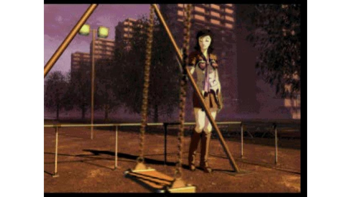 Intro FMV. This is Maya, which also happens to be the protagonist of Eternal Punishment