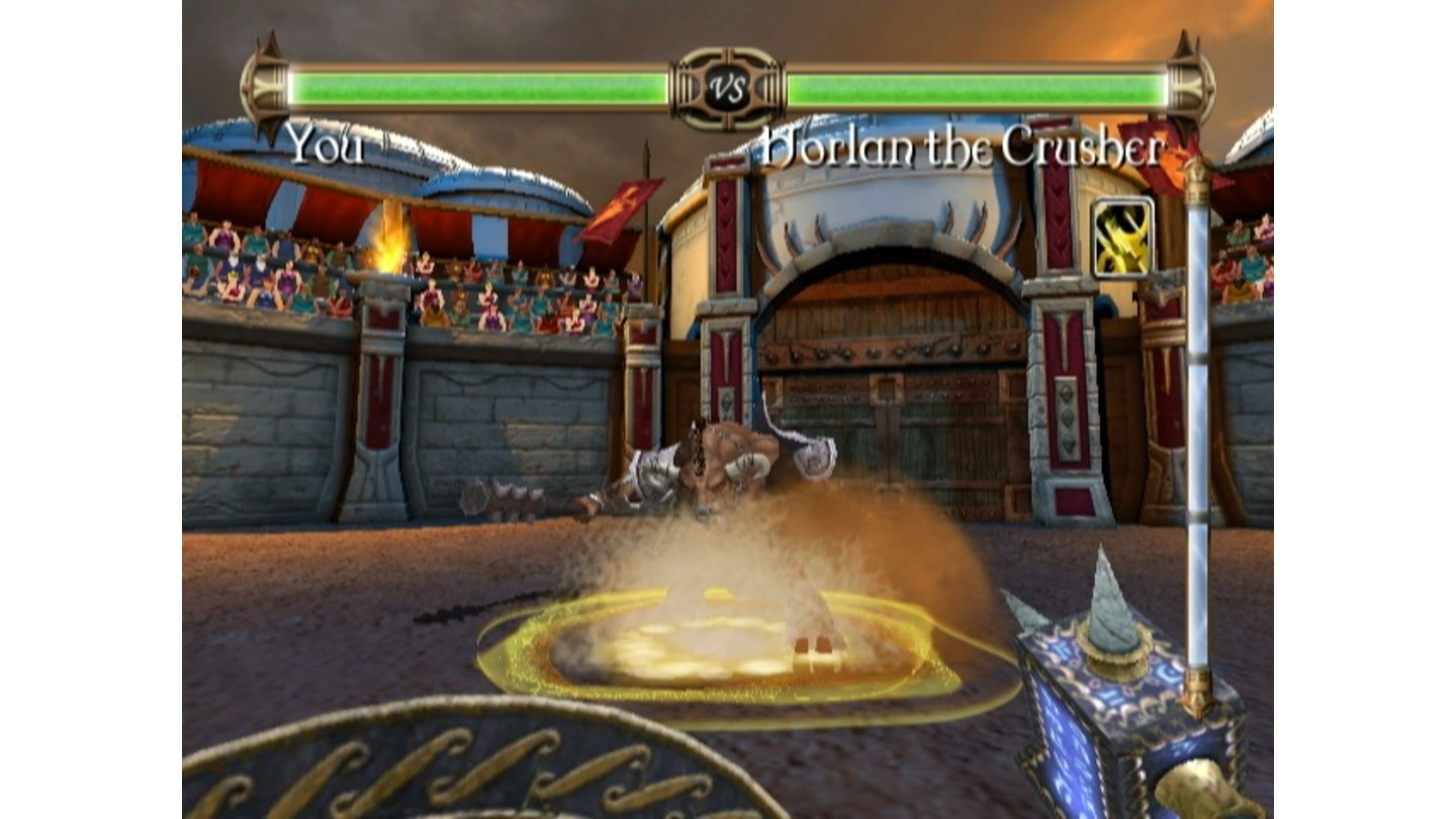 Rage of the Gladiator [Wii]