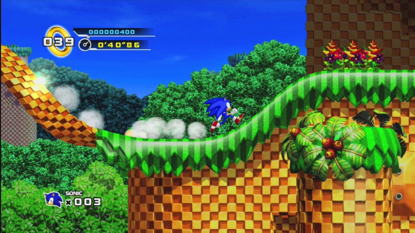 Sonic the Hedgehog 4: Episode 1 - 001
