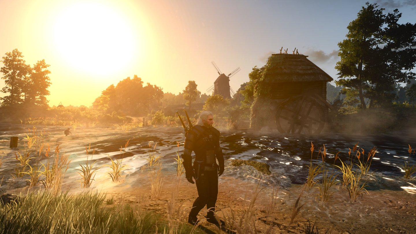 Witcher 3 in extrem - 4K 2 Morgens