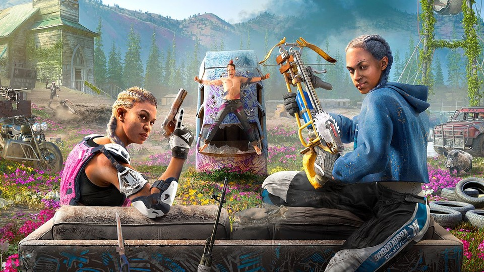 Mickey und Lou aus Far Cry New Dawn.