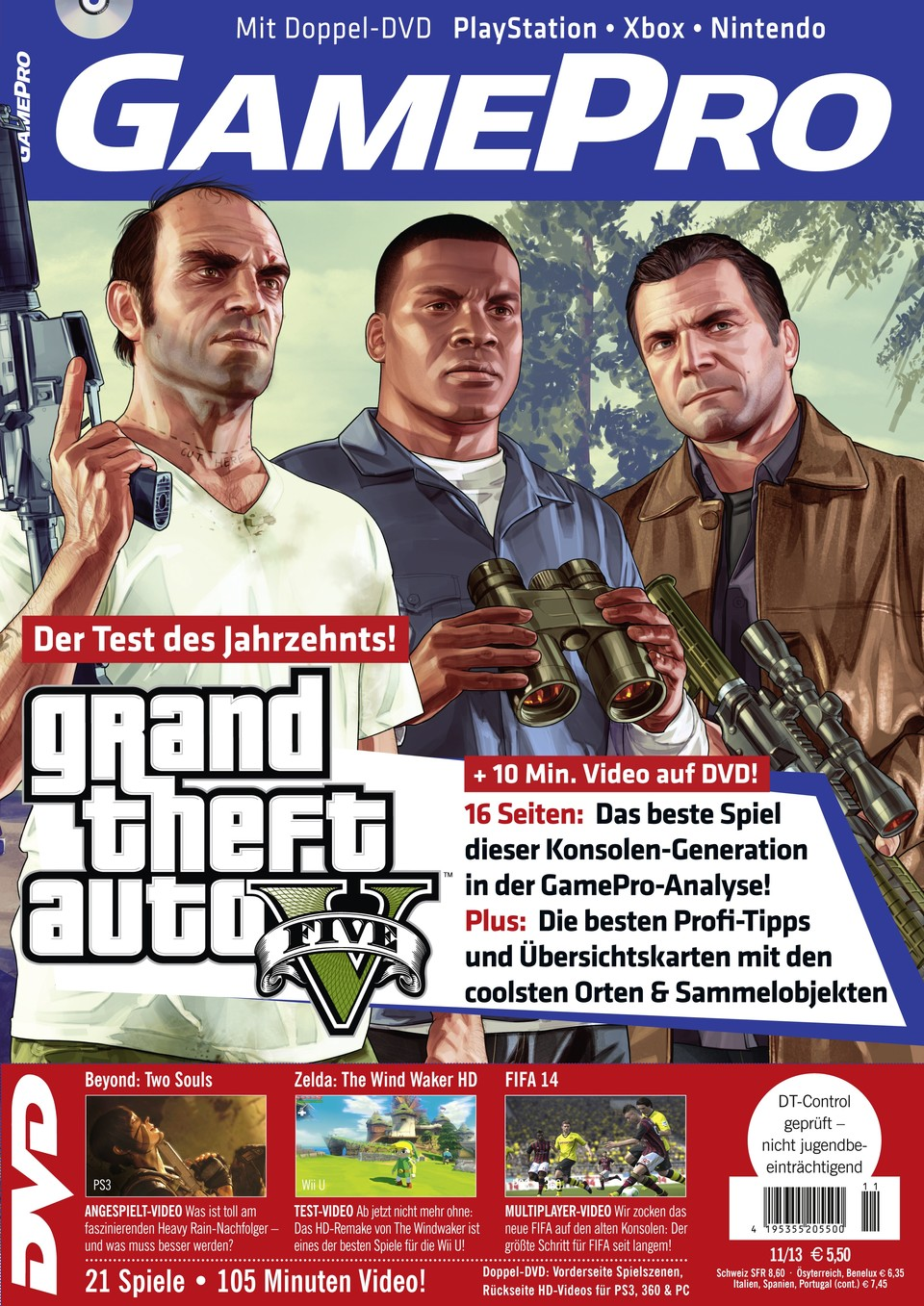 Highlightbild GamePro 11/2013