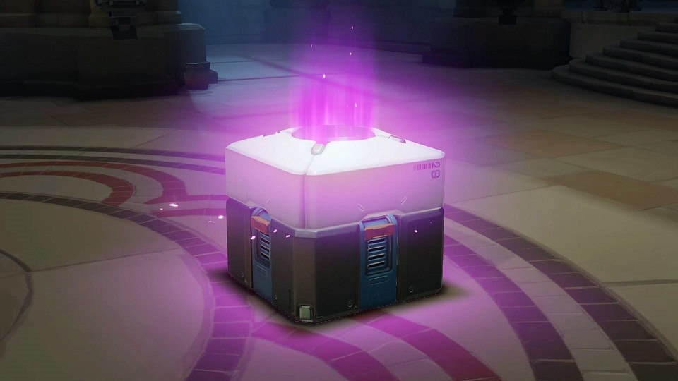 Overwatch - Lootbox Extra-Lila