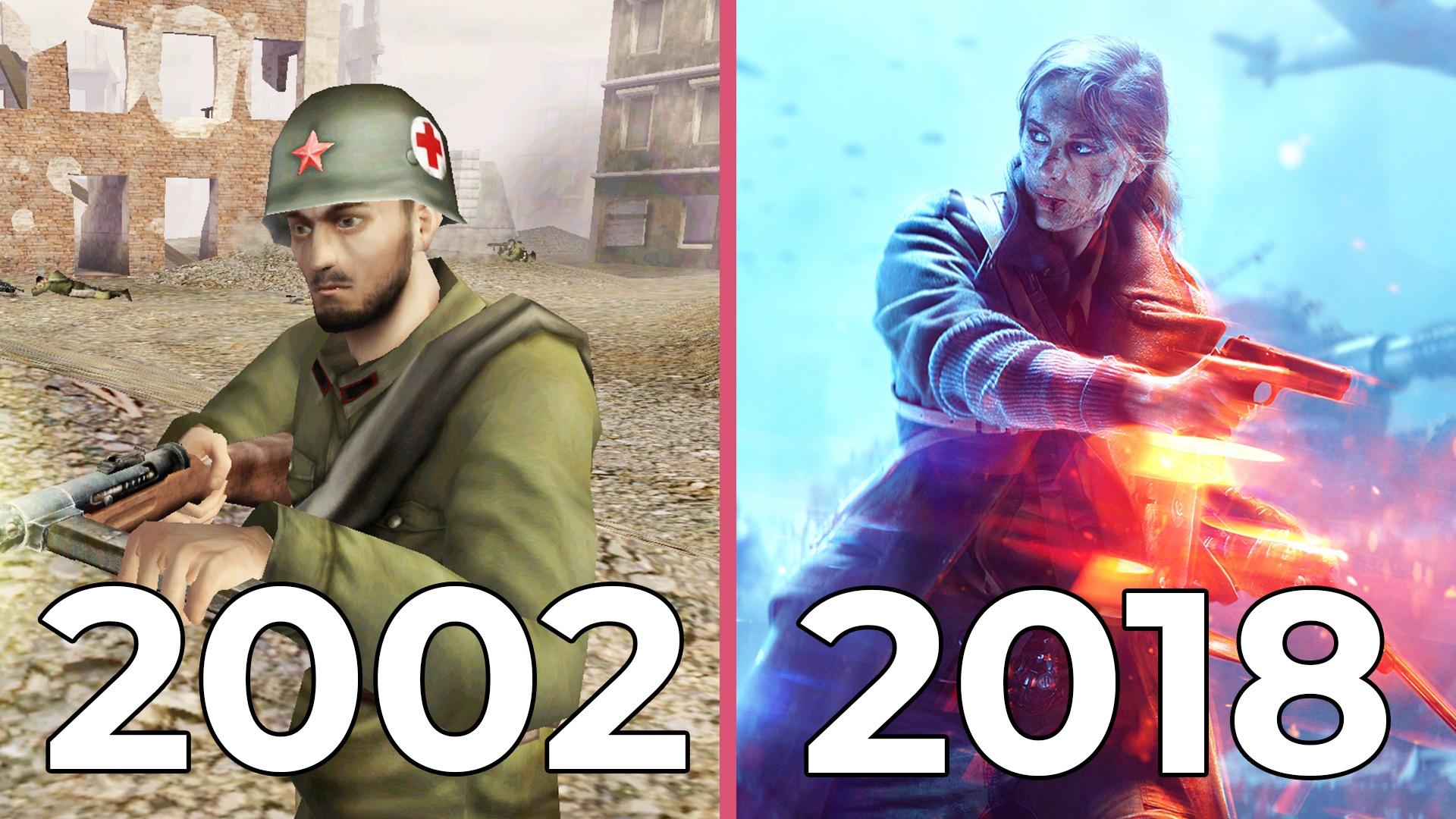 Battlefield - Alle Teile von 2002 bis heute im Video