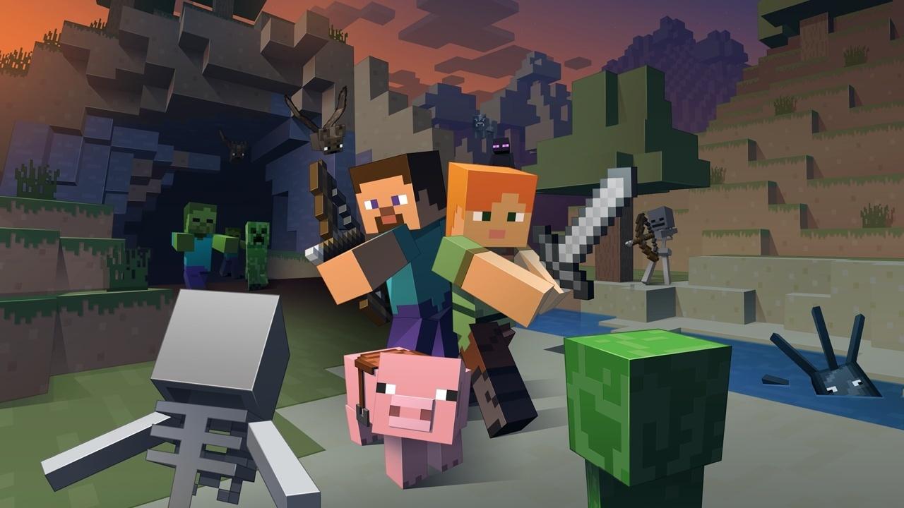 Minecraft Was Kann Die WiiUVersion Und Was Nicht GamePro - Minecraft offline zu zweit spielen pc