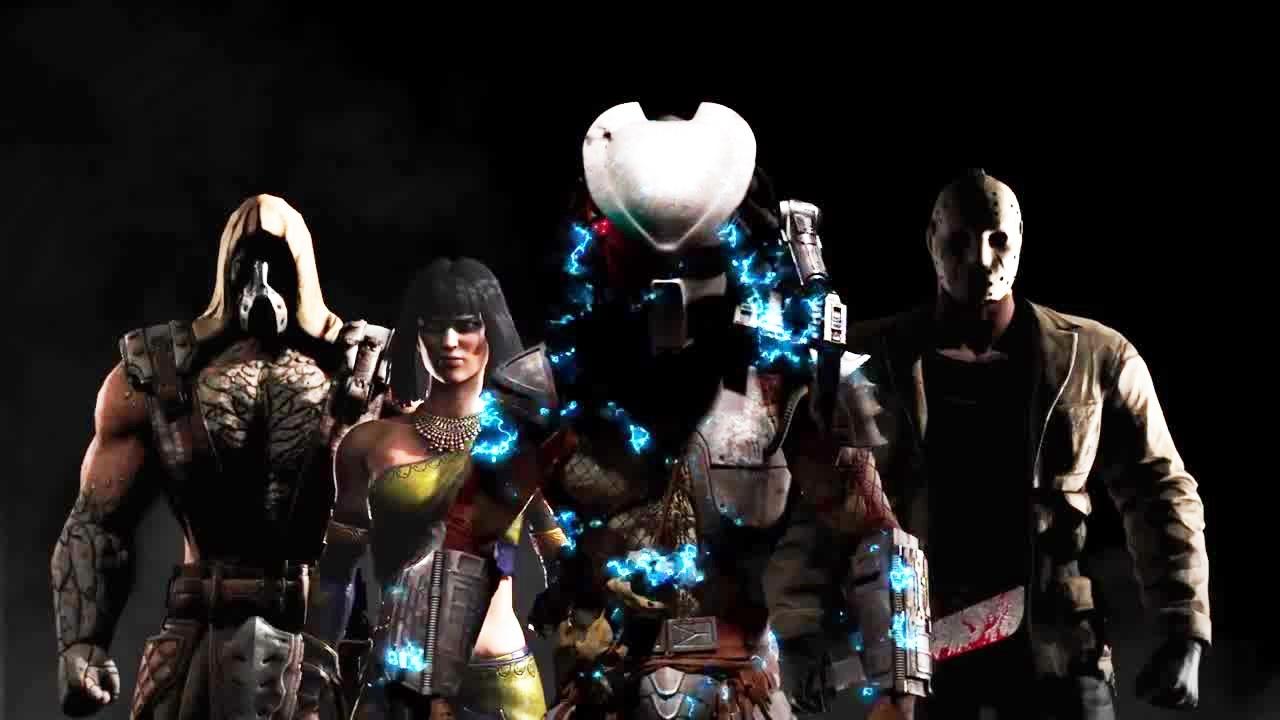 Mortal Kombat X - Alle Charaktere des Kombat Packs im Ingame-Trailer