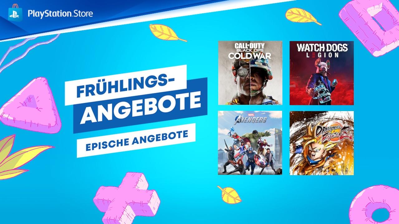 PS Store – Frühlings-Sale: Neue Angebote für PS4 mit bis zu 86% Rabatt